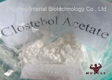 China Clostebol Acetate Strongest Testosterone Steroid For Mass And Strength CAS 855-19-6 supplier