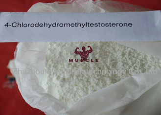 China Raw Oral Turinabol Steroid 4 Chlorodehydromethyltestosterone No Side Effect supplier