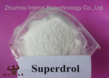 China Superdrol Powder Growth Hormone Steroid , Methyldrostanolone For Muscle Enhancement supplier