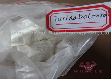 China Muscle Gain Raw Steroid Powder Oral 4-Chlorodehydromethyltestosterone / Turinabol supplier