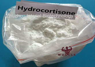 China 99.5% Purity Glucocurticoid Hydrocortisone Powder CAS: 50-23-7 for Anti-Inflammatory supplier