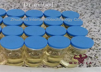 China Muscle Building Oral Anabolic Steroids 99.6% Dianabol Methandienone  CAS 72-63-9 supplier