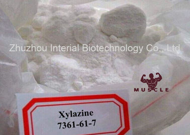 China Pharmaceutical Grade Analgesic Powder Xylazine CAS 7361-61-7 for Antinociceptive supplier