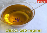 China Yellow Liquid Deca 250 Steroid Nandrolone Decanoate Injection For Bodybuilding 250mg / Ml company