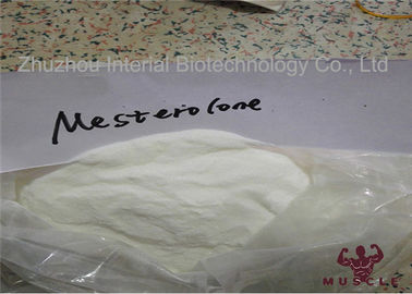 China Fast Testosterone Muscle Building Steroids , Mesterolone Proviron Steroids CAS 1424-00-6 distributor