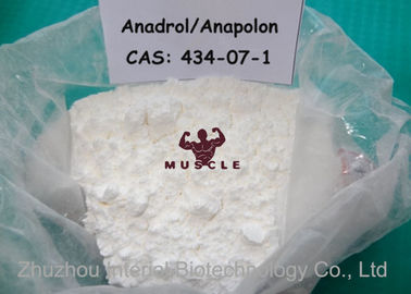 China Medical Oral Bodybuilding Steroids , Safest Anadrol Anabolic Steroid CAS 434-07-1 distributor