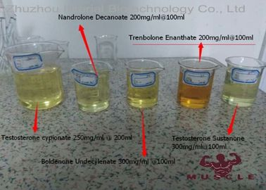 China Most Powerful Tren Anabolic Steroids Yellow Oil Trenbolone Enanthate 200mg/Ml distributor