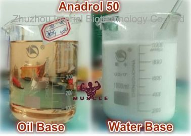 China Anadrol 50mg Injectable Anabolic Steroids For Bodybuilding CAS 434-07-1 distributor