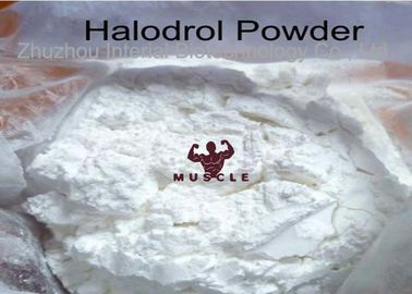 China 99% Muscle Building Prohormones Raw Steroid Powder Halodrol 50 / Turinadiol distributor