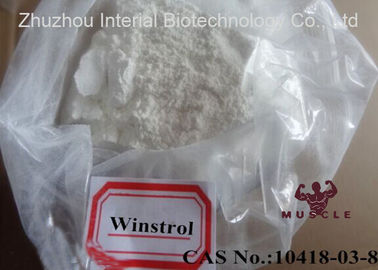 China Stanozolol / Winstrol / Winny Powder Cutting Cycle Steroid CAS 10418-03-8 distributor