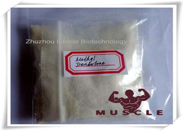 China Methyltrienolone / Metribolone T Tren Anabolic Steroid Hormones For Muscular Endurance factory