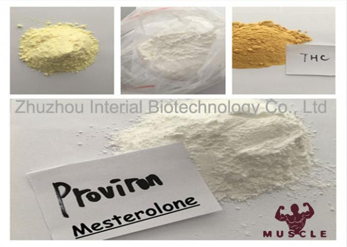 Fast Testosterone Muscle Building Steroids , Mesterolone Proviron Steroids CAS 1424-00-6