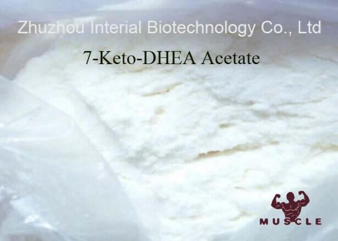 Oral Anabolic Raw Steroid Powders 7 Keto Dhea Acetate Weight Loss AS 853-23-6