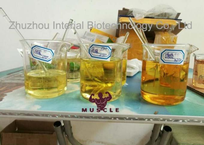 Injectable Methenolone Enanthate 100mg/Ml Semi Finished Safe Steroids For Muscle Building