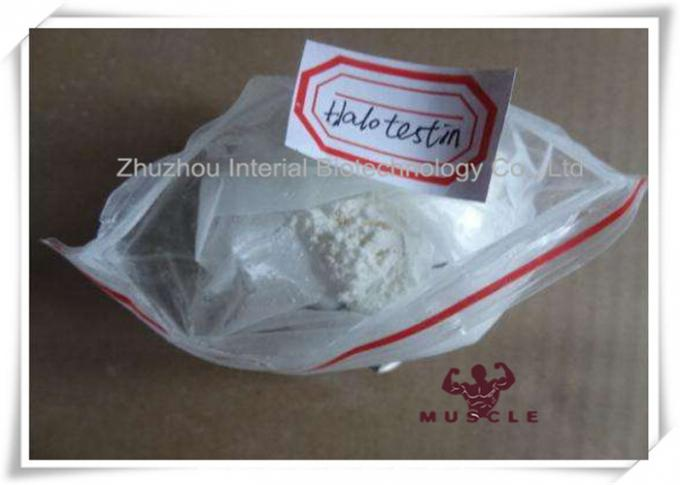 99% Purity Strongest Testosterone Steroid Halotestin Fluoxymesteron CAS 76-43-7